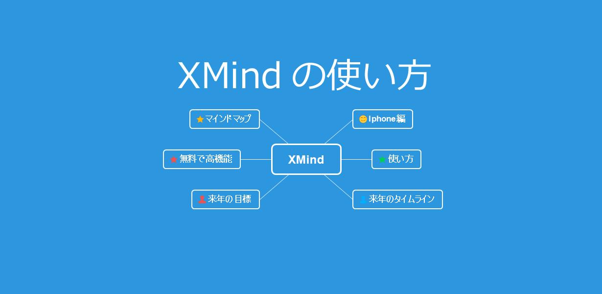 XMindの使い方