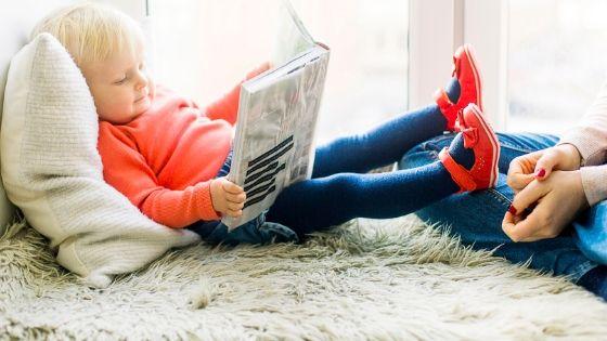 自分も同じ本を読んで子供と一緒に考察する