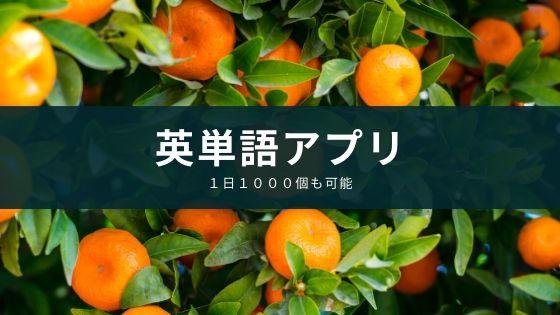 1日で1000個覚えられる英単語アプリ『mikan』